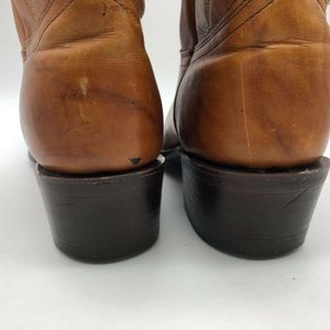 J. Chisholm Shoes - J. Chisholm Men Cowboy Western Boots Brown Leather